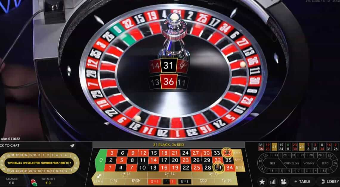 double ball roulette game